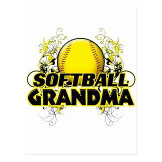 Softball Grandma (cross).png Postcard