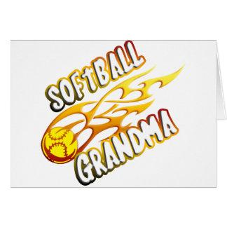 Softball Grandma (flame).png Card