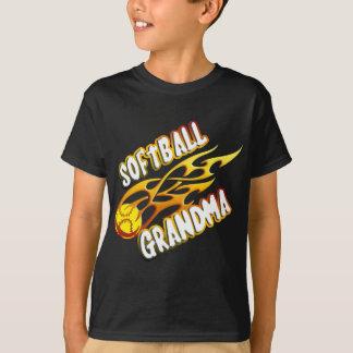 Softball Grandma (flame).png T-Shirt