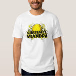 Softball Grandpa (cross).png T Shirts