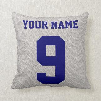 Softball Grandpa Name & Number Pillow