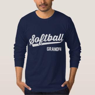 Softball Grandpa T Shirt
