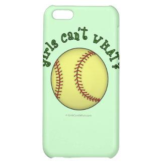 Softball-Green iPhone 5C Cover