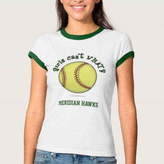 Softball-Green T-Shirt