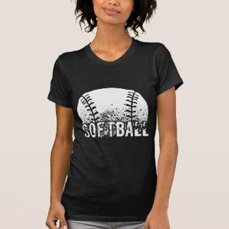 Softball Grunge Tshirt
