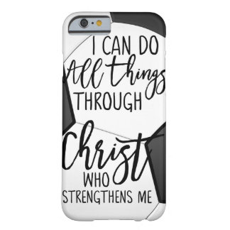 Softball I Can Do All Things Through Christ Who Barely There iPhone 6 Case