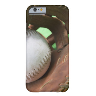Softball in catcher's glove barely there iPhone 6 case