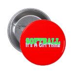Softball- It's A Girl Thing Pin