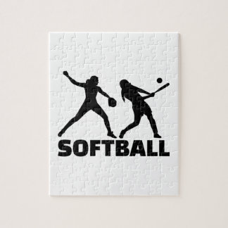Softball Jigsaw Puzzle