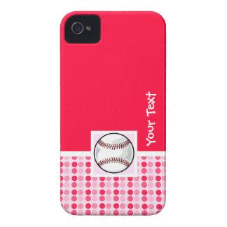 Softball lindo iPhone 4 cárcasa