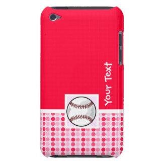 Softball lindo iPod touch Case-Mate cobertura