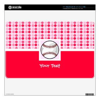 Softball lindo skins para MacBook