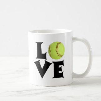 Softball Love Coffee Mug