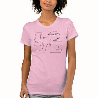 Softball Love Custom T-shirt