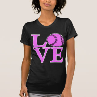 Softball LOVE, pink.png T-Shirt