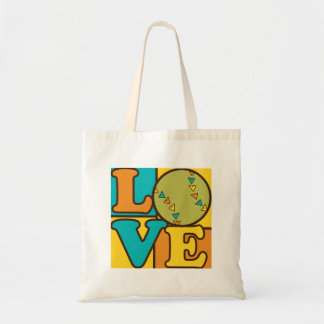Softball Love Tote Bag