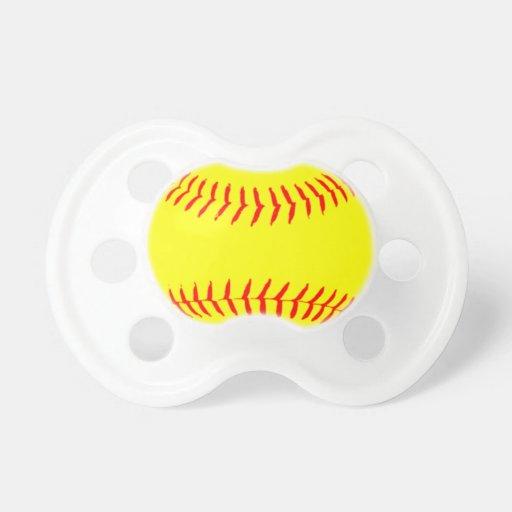 Softball modificado para requisitos particulares chupetes de bebe