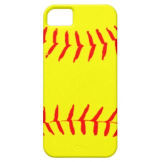 Softball modificado para requisitos particulares iPhone 5 carcasa