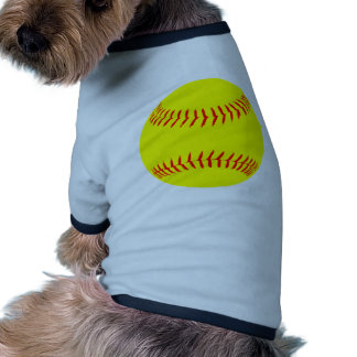 Softball modificado para requisitos particulares ropa de perros