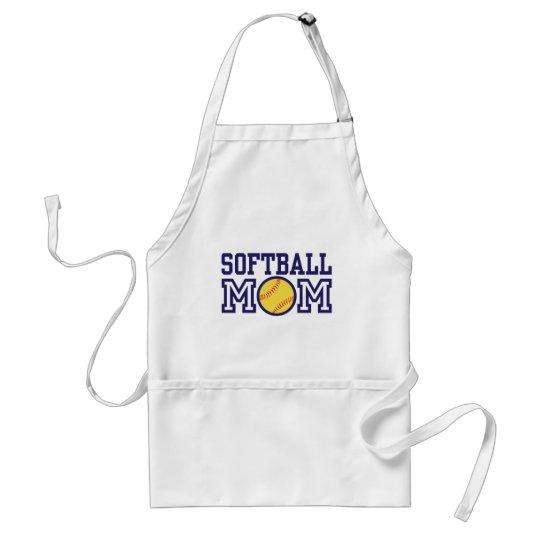 Softball Mom Adult Apron
