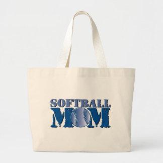 Softball Mom Jumbo Tote Bag