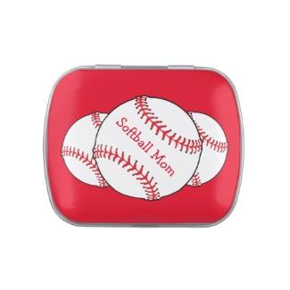 Softball Mom Candy Tin