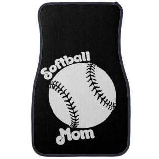 Softball MOM Car Floor Mat