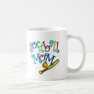 Softball Mom Coffee Mug