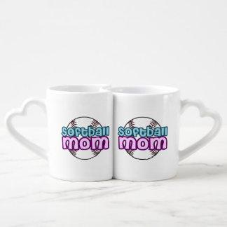 Softball Mom Coffee Mug Set