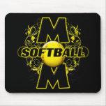 Softball Mom (cross) copy.png Mousepad