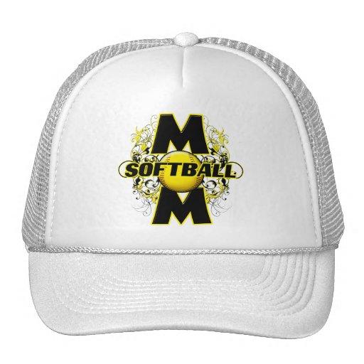 Softball Mom (cross) copy.png Trucker Hat