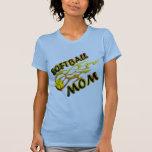 Softball Mom (flame) copy.png T Shirts