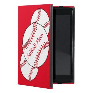 Softball Mom iPad Mini Case