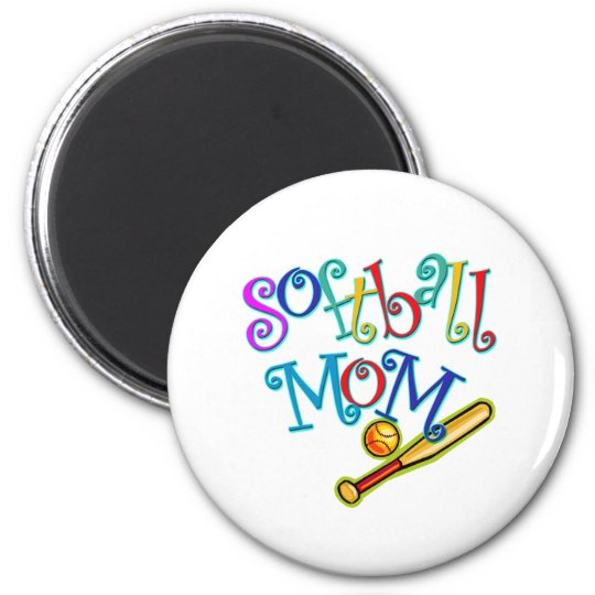 Softball Mom Magnet