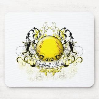Softball Mom Mouse Pad