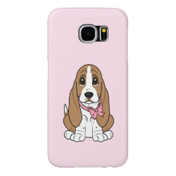 Case-Mate Barely There Samsung Galaxy S6 Case with Basset Hound Phone Cases design