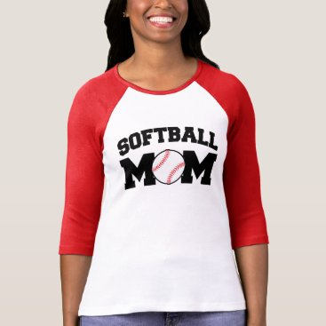 worksaheart Softball Mom shirt