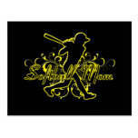 Softball Mom (silhouette) copy.png Post Cards
