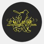 Softball Mom (silhouette) copy.png Stickers
