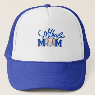 Softball Mom Trucker Hats