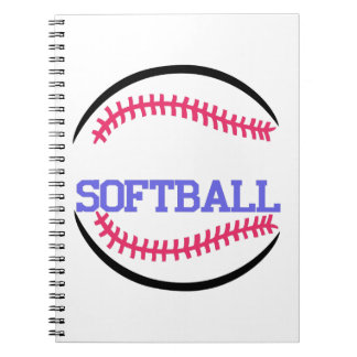 Softball Name Drop Notebook