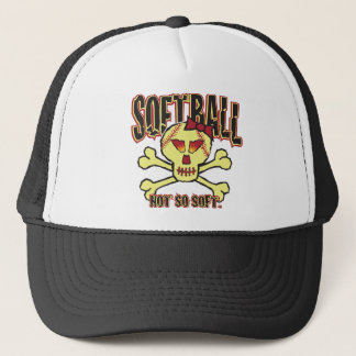 Softball, Not So Soft Trucker Hat