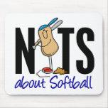 Softball Nut 2 Mouse Pad