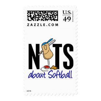 Softball Nut 2 Stamps