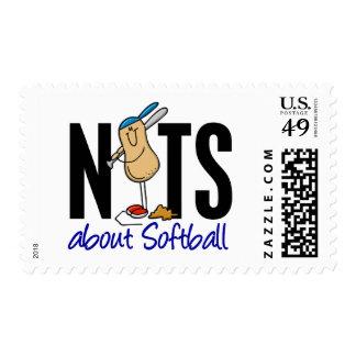 Softball Nut 2 Postage