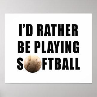 Softball Impresiones