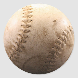 Softball Pegatina Redonda