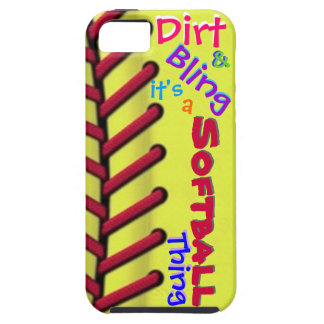 Softball Phone Case iPhone 5 Covers