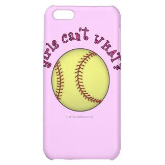 Softball-Pink iPhone 5C Case