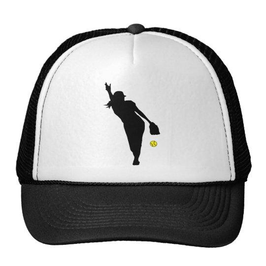 softball Pitch Trucker Hat
